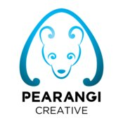 Pearangi Logo - blue and black
