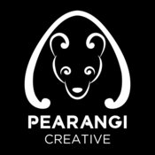 Pearangi Logo - all white